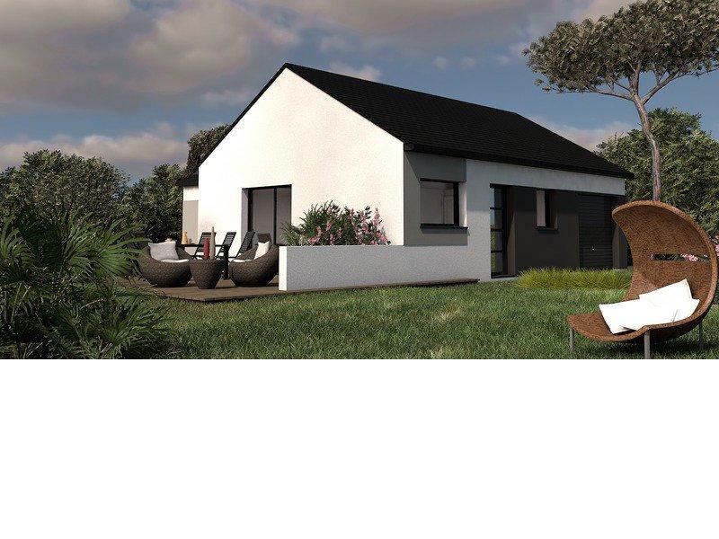Maison+Terrain de 4 pièces avec 3 chambres à Loctudy 29750 – 213000 €