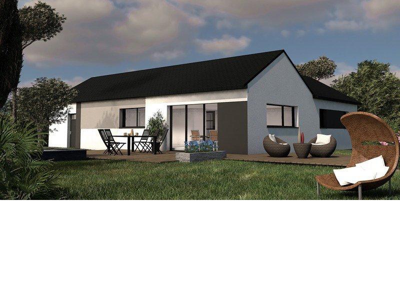 Maison+Terrain de 5 pièces avec 4 chambres à Loctudy 29750 – 243100 €
