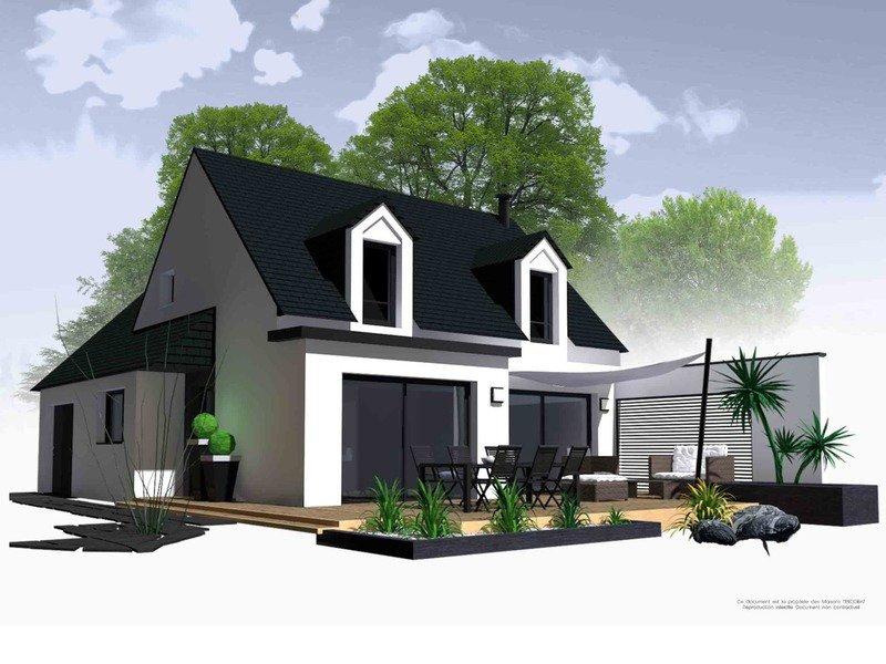 Maison+Terrain de 5 pièces avec 4 chambres à Lanvallay 22100 – 167500 € - NGL-18-09-13-24
