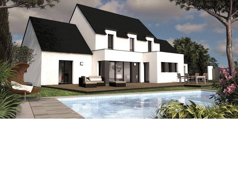 Maison+Terrain de 7 pièces avec 6 chambres à Richardais 35780 – 355000 €