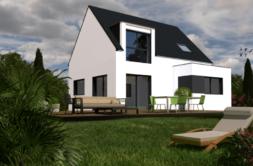 Maison+Terrain de 5 pièces avec 4 chambres à Malhoure 22640 – 159663 € - CHO-19-10-17-63