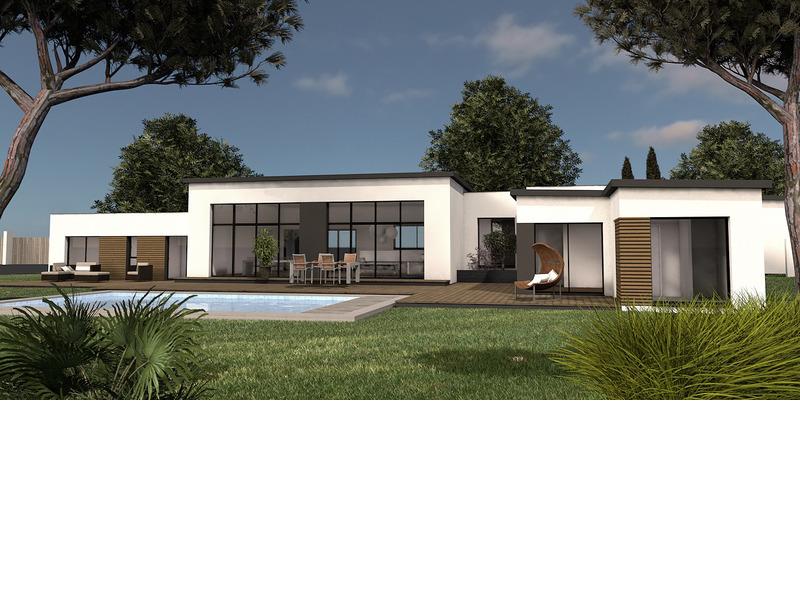 A vendre maison terrain 8 pi ces 204 m sur terrain de for Terrain blanquefort