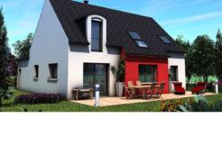Maison+Terrain de 6 pièces avec 4 chambres à Pleuven 29170 – 228150 €