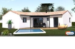 Maison+Terrain de 4 pièces avec 3 chambres à Cabanac et Villagrains 33650 – 224600 €