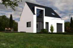 Maison+Terrain de 5 pièces avec 3 chambres à Herbignac 44410 – 178000 €