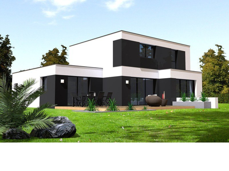 Maison+Terrain de 6 pièces avec 4 chambres à Saint Ségal 29590 – 226817 € - SCH-18-12-28-227