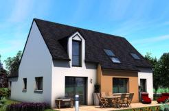 Maison+Terrain de 5 pièces avec 4 chambres à Plozévet 29710 – 223600 €