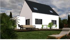 Maison+Terrain de 6 pièces avec 4 chambres à Ploudaniel 29260 – 179500 € - PDUR-18-07-18-8