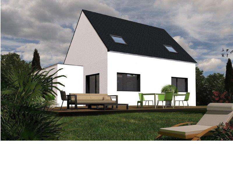 Maison+Terrain de 6 pièces avec 4 chambres à Landerneau 29800 – 181600 €