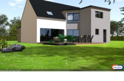 Maison+Terrain de 8 pièces avec 6 chambres à Mondevert 35370 – 261904 €