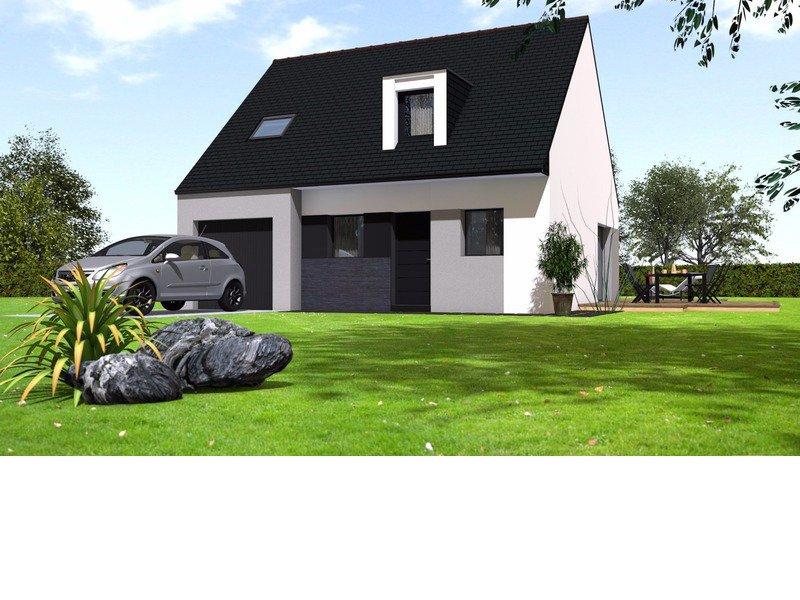 Maison+Terrain de 5 pièces avec 4 chambres à Ercé près Liffré 35340 – 220212 € - BBA-19-03-25-53