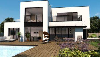 Maison+Terrain de 6 pièces avec 4 chambres à Taillan Médoc 33320 – 539000 € - FDU-18-12-06-7