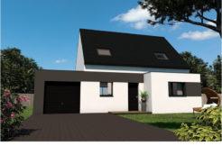 Maison+Terrain de 6 pièces avec 4 chambres à Ploudaniel 29260 – 173500 € - PDUR-18-07-18-9