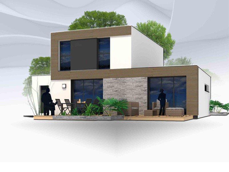 Maison+Terrain de 6 pièces avec 4 chambres à Richardais 35780 – 266000 €