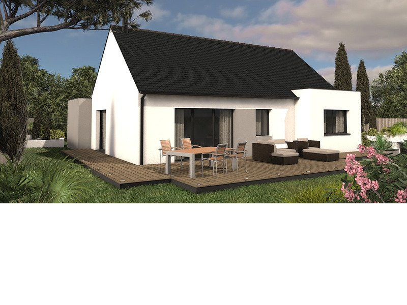 Maison+Terrain de 4 pièces avec 2 chambres à Campistrous 65300 – 145000 €