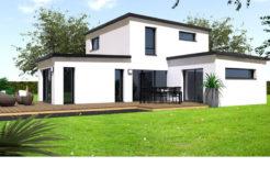 Maison+Terrain de 4 pièces avec 3 chambres à Châteaugiron 35410 – 253600 €