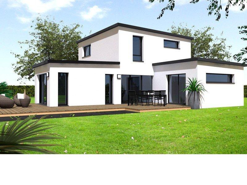 Maison+Terrain de 4 pièces avec 3 chambres à Martigné-Ferchaud  – 219488 € - VCHA-19-10-10-93