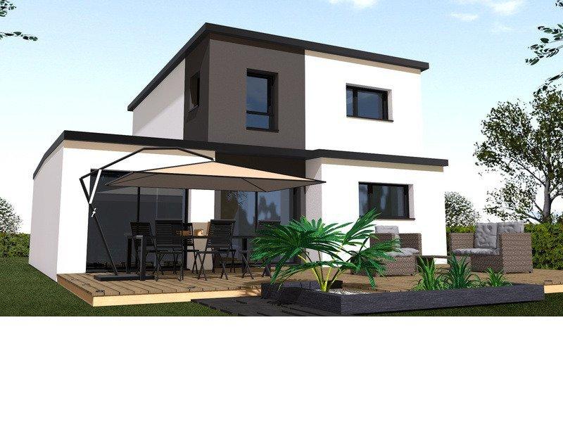 Maison+Terrain de 4 pièces avec 3 chambres à Bourgbarré 35230 – 257000 €