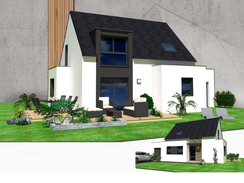 Maison+Terrain de 6 pièces avec 4 chambres à Herbignac 44410 – 200856 €