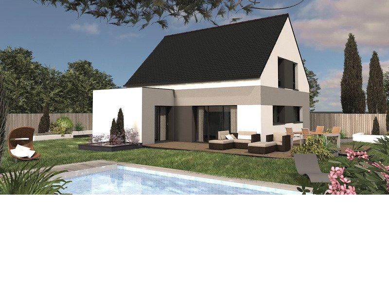 Maison+Terrain de 5 pièces avec 4 chambres à Janzé 35150 – 225157 € - VCHA-18-08-01-13