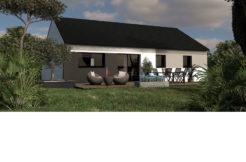 Maison+Terrain de 4 pièces avec 3 chambres à Quimperlé 29300 – 163500 €