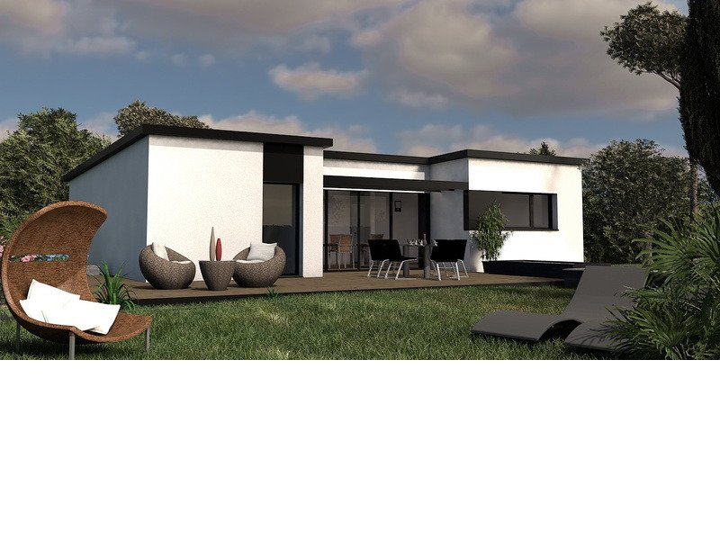 Maison+Terrain de 4 pièces avec 3 chambres à Caudan 56850 – 222500 €