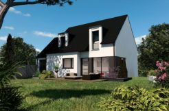 Maison+Terrain de 5 pièces avec 4 chambres à Quimperlé 29300 – 213500 €