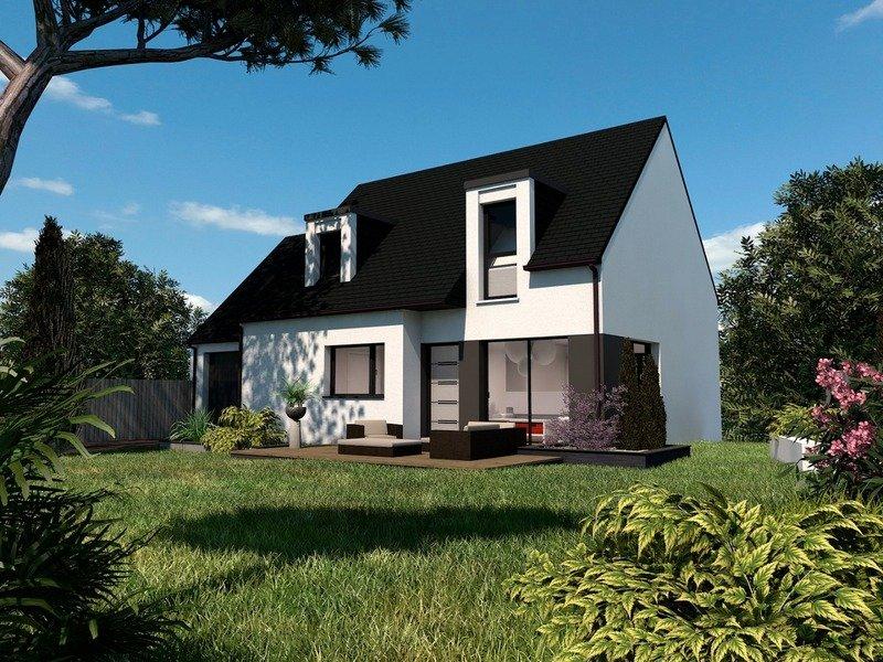 Maison+Terrain de 5 pièces avec 4 chambres à Inzinzac Lochrist 56650 – 228000 €