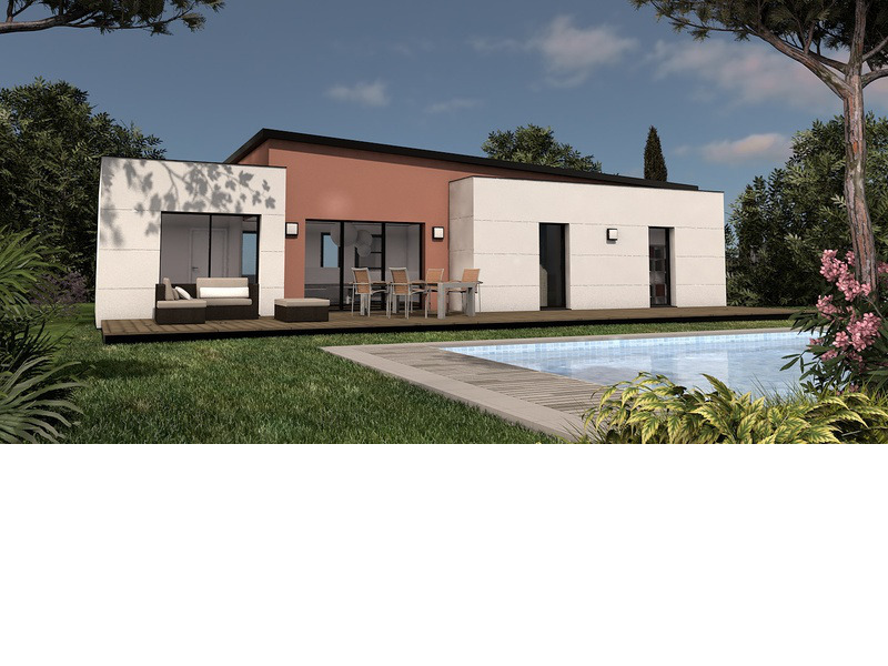 Maison+Terrain de 4 pièces avec 3 chambres à Thairé 17290 – 183000 €