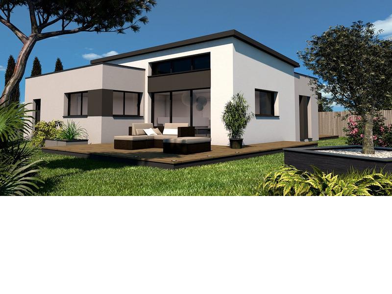 Maison+Terrain de 3 pièces avec 2 chambres à Thairé 17290 – 176000 €