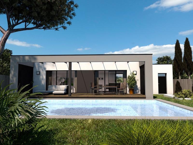 Maison+Terrain de 4 pièces avec 3 chambres à Aigrefeuille d'Aunis 17290 – 204500 €