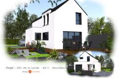 Maison+Terrain de 4 pièces avec 3 chambres à Guichen 35580 – 300371 € - VCHA-18-06-11-8