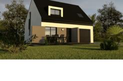Maison+Terrain de 4 pièces avec 3 chambres à Inzinzac Lochrist 56650 – 199700 €