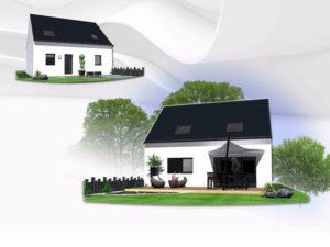 Maison+Terrain de 5 pièces avec 4 chambres à Val d'Izé 35450 – 160712 €