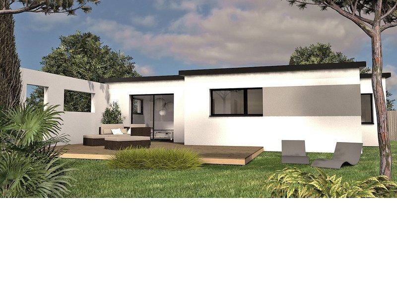 Maison+Terrain de 3 pièces avec 2 chambres à Guipavas 29490 – 196500 €