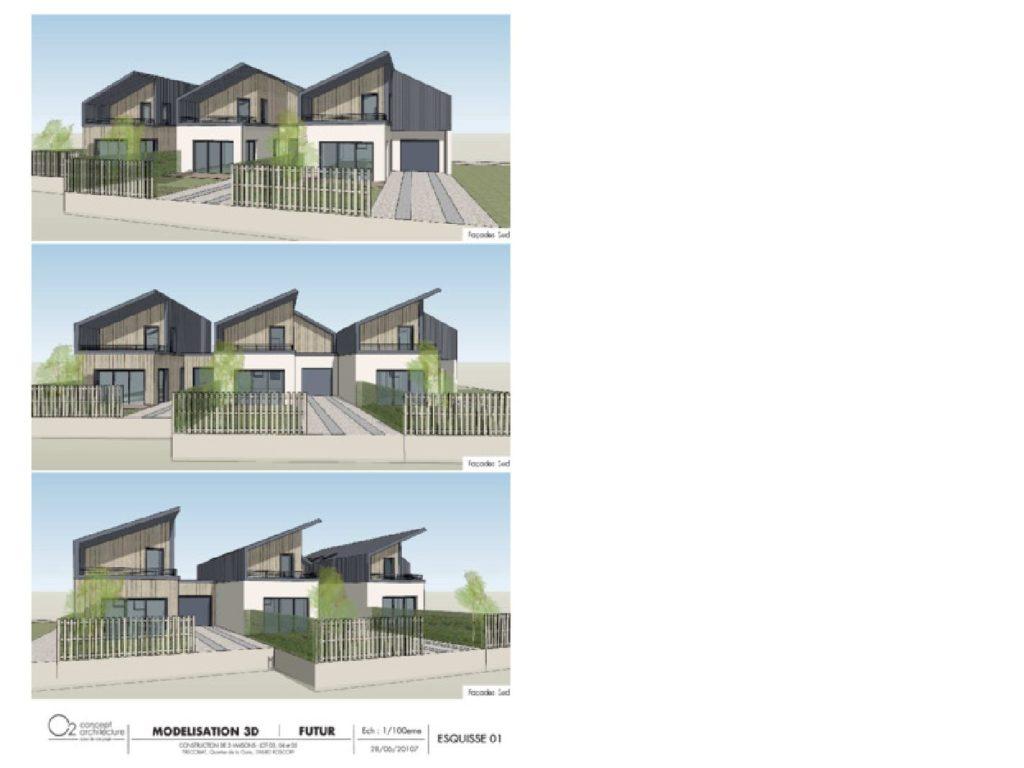 Maison+Terrain de 5 pièces avec 3 chambres à Santec 29250 – 281000 € - MHE-17-12-13-129