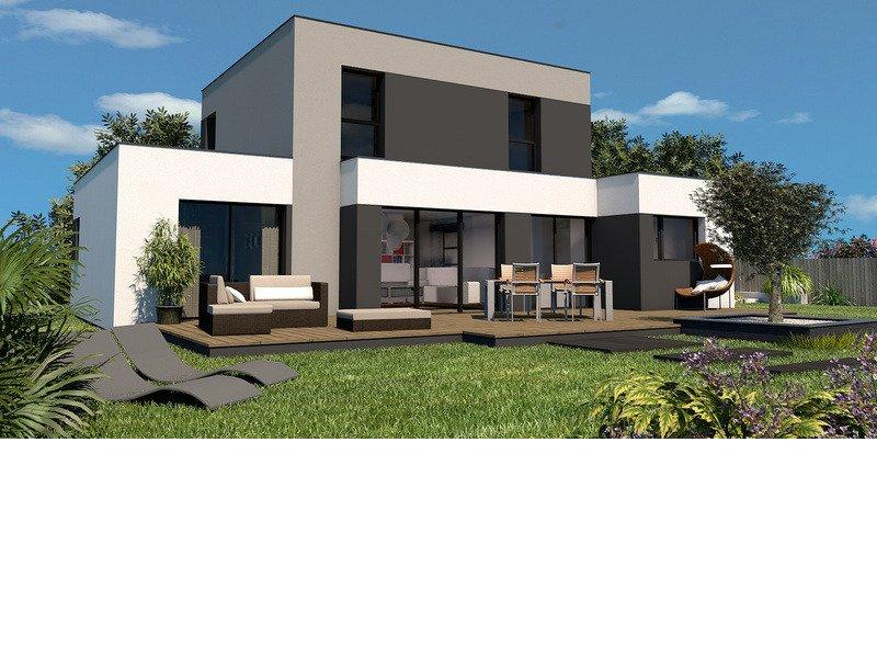 Maison+Terrain de 5 pièces avec 3 chambres à Santec 29250 – 264488 € - MHE-18-08-01-25
