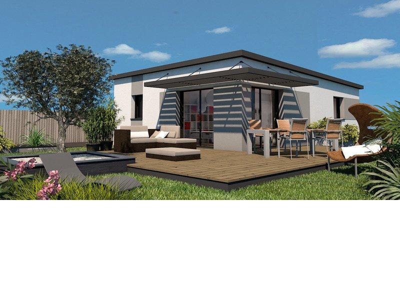 Maison+Terrain de 3 pièces avec 2 chambres à Santec 29250 – 196000 € - MHE-18-12-14-25