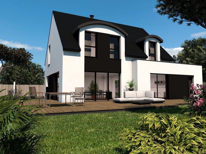 Maison+Terrain de 6 pièces avec 3 chambres à Lannion 22300 – 288000 € - SDEN-18-08-02-49