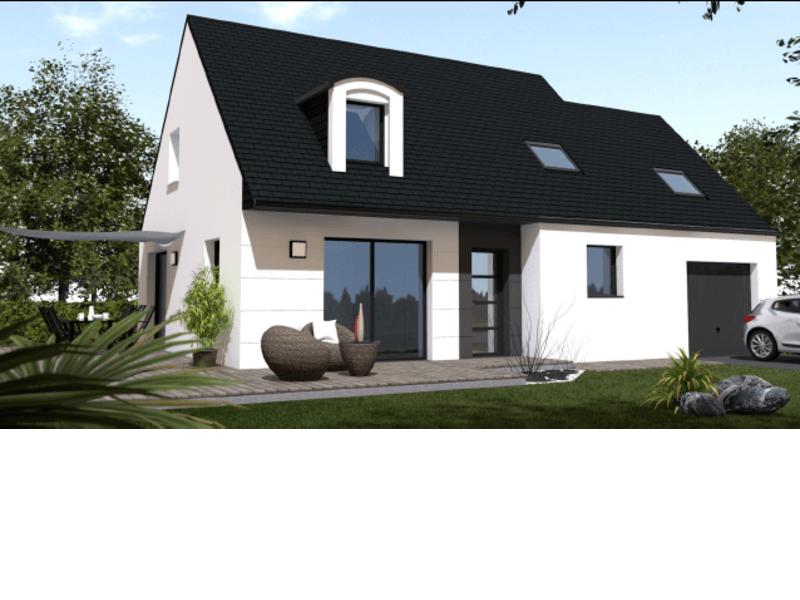 Maison+Terrain de 5 pièces avec 4 chambres à Pleslin Trigavou 22490 – 178000 € - TBO-18-08-01-17