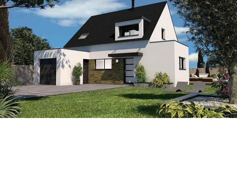 Maison+Terrain de 6 pièces avec 4 chambres à Saint Aubin du Cormier 35140 – 257817 € - BBA-19-10-02-61