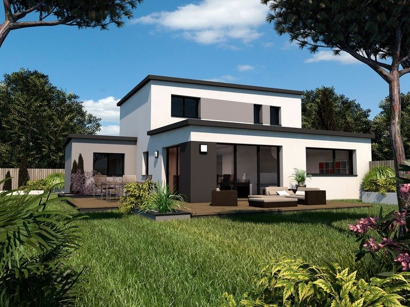 Maison+Terrain de 6 pièces avec 4 chambres à Chasné sur Illet 35250 – 232275 € - BBA-19-06-08-47