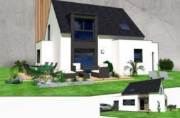 Maison+Terrain de 8 pièces avec 4 chambres à Plescop 56890 – 232069 € - YM-20-01-09-121