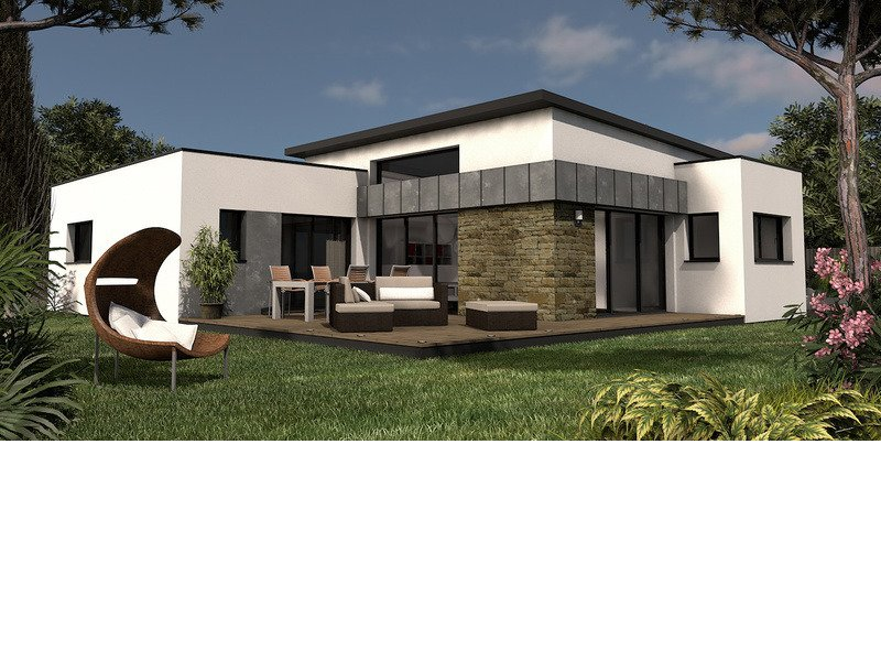 Maison+Terrain de 5 pièces avec 4 chambres à Saint Yvy 29140 – 240491 € - CGO-19-03-07-65