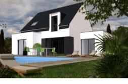 Maison+Terrain de 5 pièces avec 4 chambres à Ergué Gabéric 29500 – 224419 € - SCH-19-03-11-52