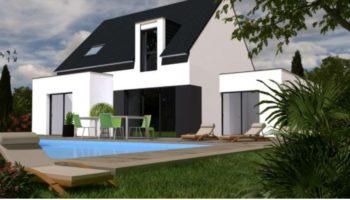 Maison+Terrain de 5 pièces avec 4 chambres à Saint Ségal 29590 – 212920 € - SCH-18-10-11-85