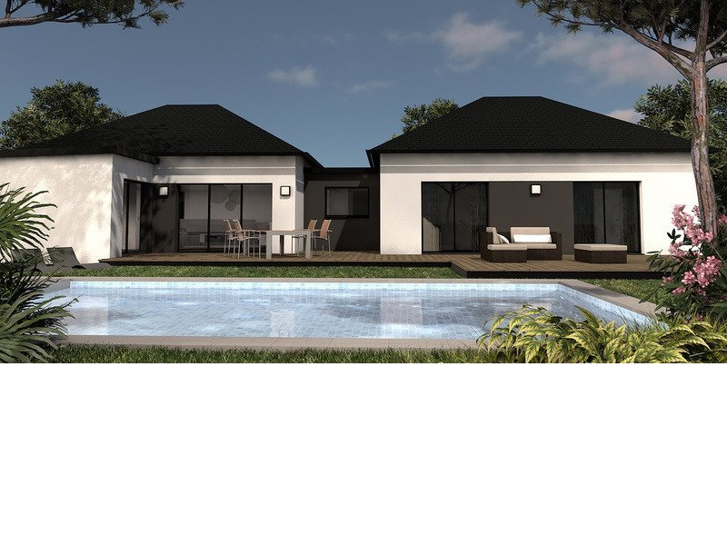 Maison+Terrain de 4 pièces avec 3 chambres à Guidel 56520 – 261600 € - NJO-18-10-01-65