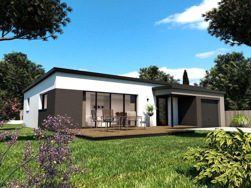 a vendre maison terrain 4 pi ces 90 m sur terrain de 365 m plouhinec 56680 trecobat. Black Bedroom Furniture Sets. Home Design Ideas