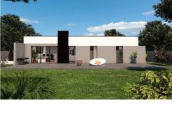 Maison+Terrain de 5 pièces avec 3 chambres à Cléder 29233 – 235220 € - PDUR-18-07-19-6