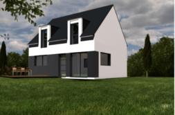 Maison+Terrain de 5 pièces avec 4 chambres à Ploeren 56880 – 283065 € - YM-19-06-04-21